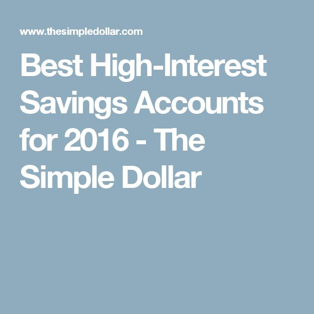 Best 25+ High interest savings account ideas on Pinterest High - personal interests