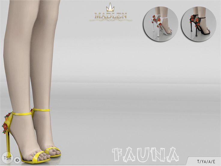 Madlen Fauna Shoes You cannot change the mesh, but feel free to recolour it  as long as you add original link in the description.