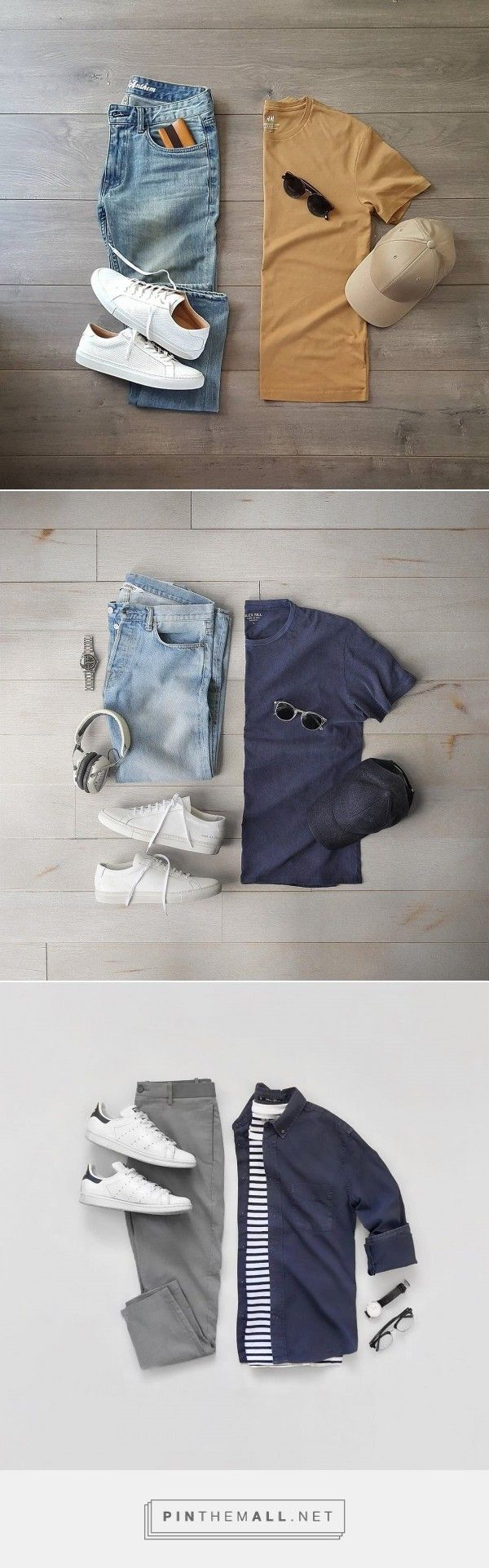 3 Fresh Summer Outfit Grids For Men #mensfashion #fashion #style #fallfashion #streetstyle #outfitgrid