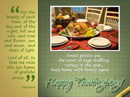 #Thanksgiving www.123greetings.com/profile/bebestarr #hymn #Pierpoint