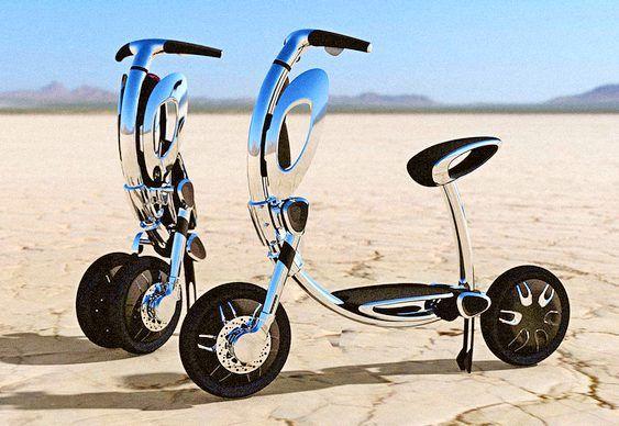Scooter elétrica INU