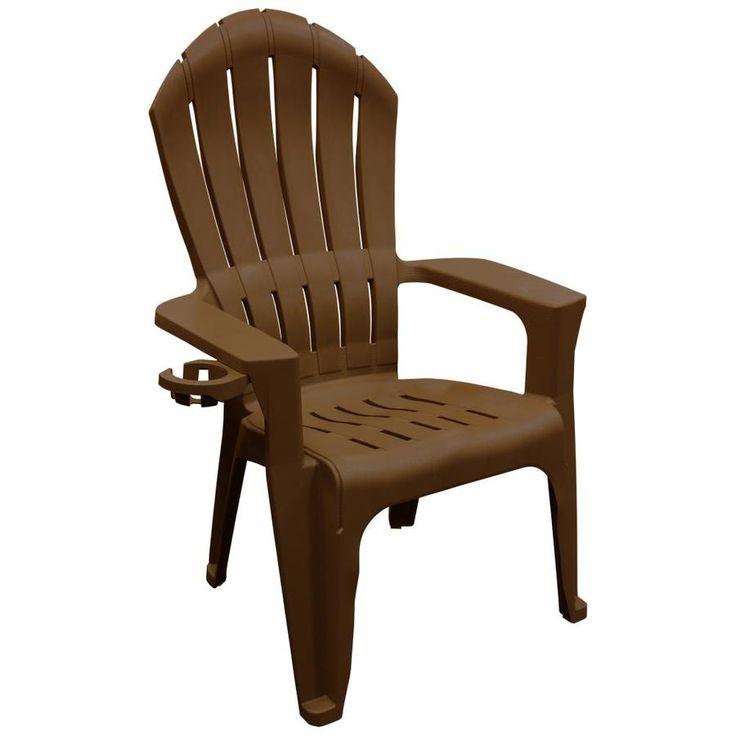 adams big easy adirondack chair earth brown