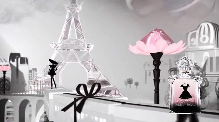 Paris never looked so gorgeous, invasion by La Petit Robe Noire by Guerlain, the fragrance is divine