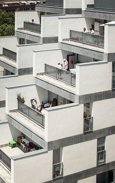 Gallery of 114 Public Housing Units / Sauquet Arquitectes i Associats - 8