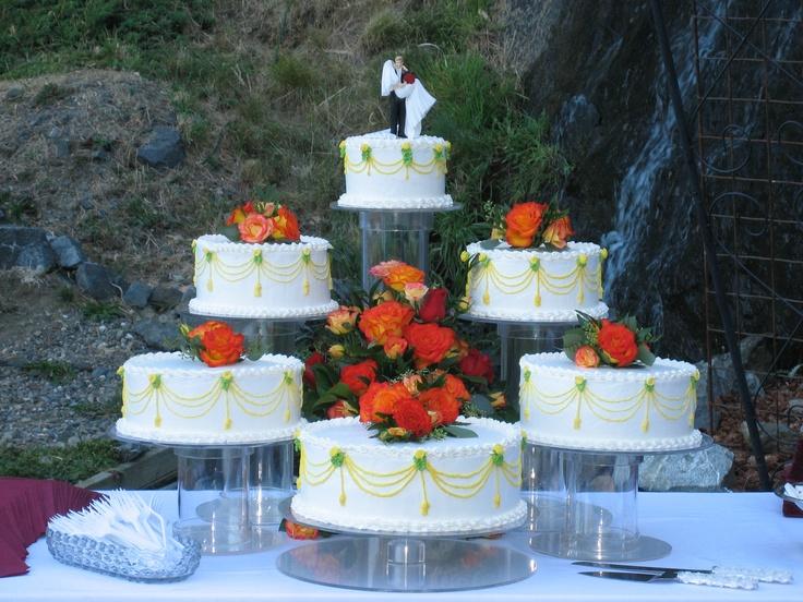 Mejores 176 imágenes de Wedding and Anniversary Cakes en Pinterest ...