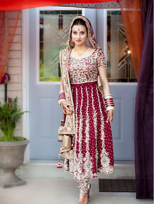 considering bridal anarkali instead of lengha
