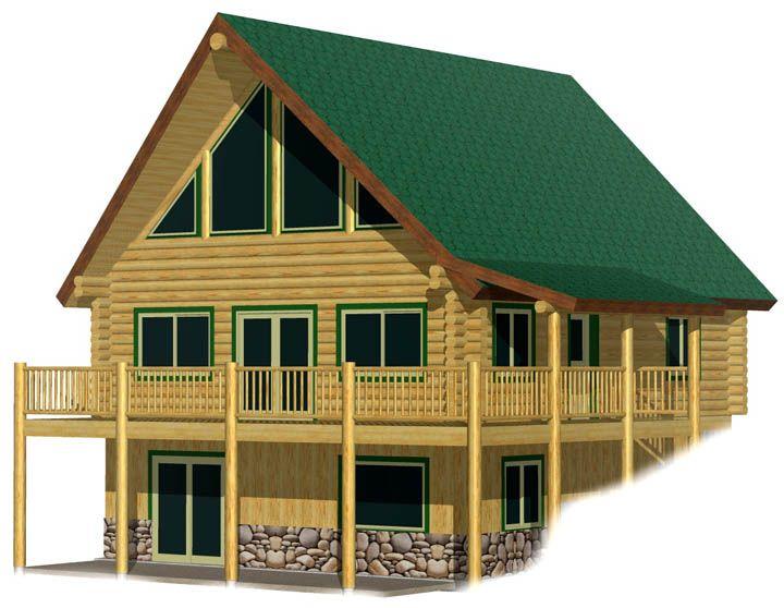 Pinnacle log cabin kit prices, discount log home kit