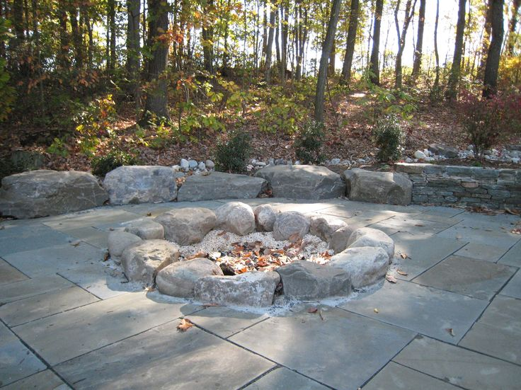 How To Build A Rock Wall Fire Pit