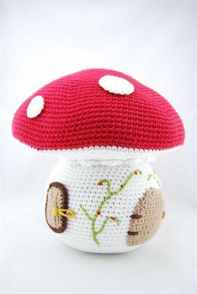 Haakpatroon grote paddenstoel | Echtstudio