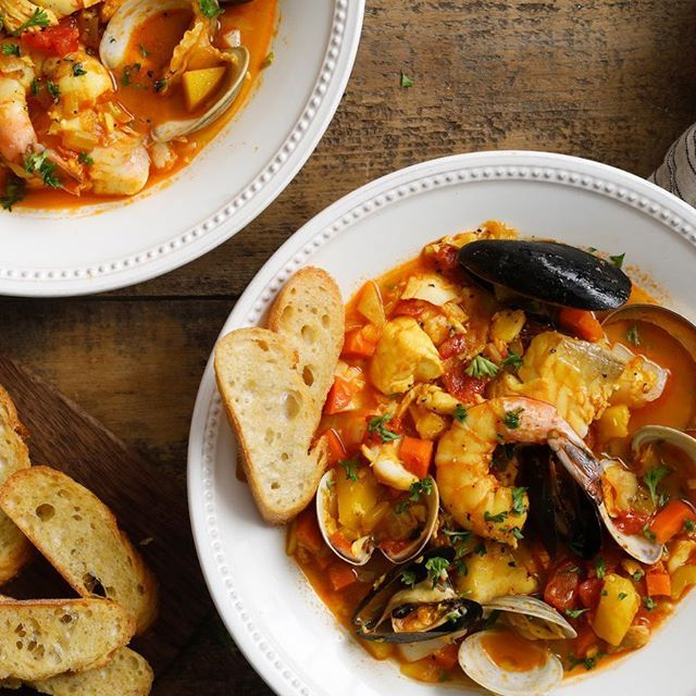 A traditional Bouillabaisse from Marseille. For more about France, visit our website. Link on the bio. . . . #bouillabaisse #traditional #food #marseille #provence #provencal #frenchfood #frenchdish #localdish #localdishes #localfood #frenchdishes #france #francia #prancis #perancis #francecommunity #instafood #visitfrance #beautyoffrance #igers #instagood #hello_france #instatravel #culinary #culinaryjourney #foodies #travel