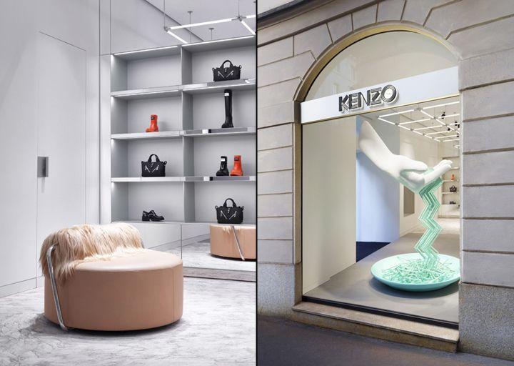 Kenzo store, Milan – Italy » Retail Design Blog