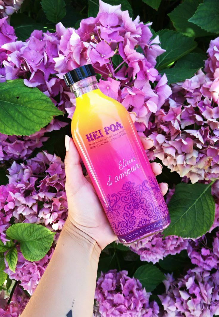 hei poa, huile de coco et fleur de tiaré, monoi, hydratant