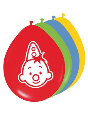 Bumba ballonnen; tover je feestruimte om tot  het circus van Bumba!!!