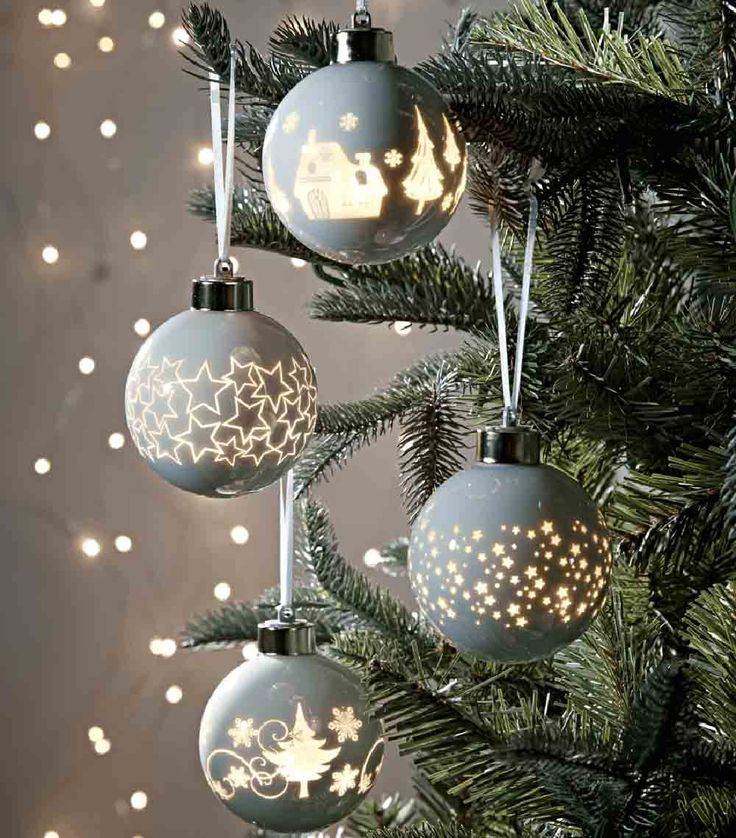 17 best christmas bauble displays images on pinterest for Best looking christmas tree