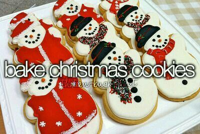 Would love to learn how to make and decorate christmas cookies.