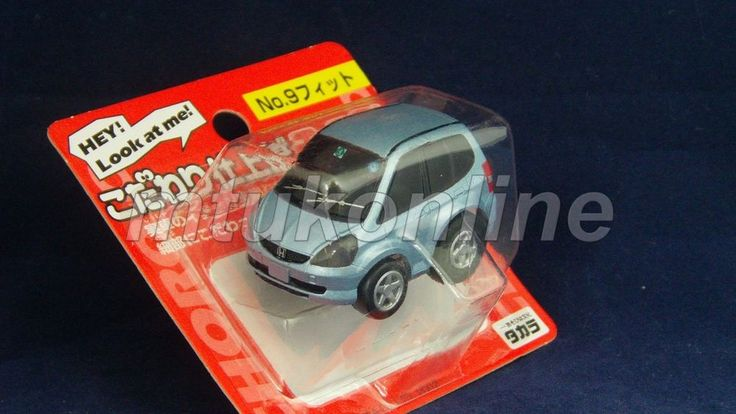 CHORO-Q SUPER REAL 2002 | HONDA JAZZ 2001 | NO.9 | LIGHT METALLIC BLUE