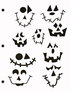 Find free printable pumpkin carving stencils and p…