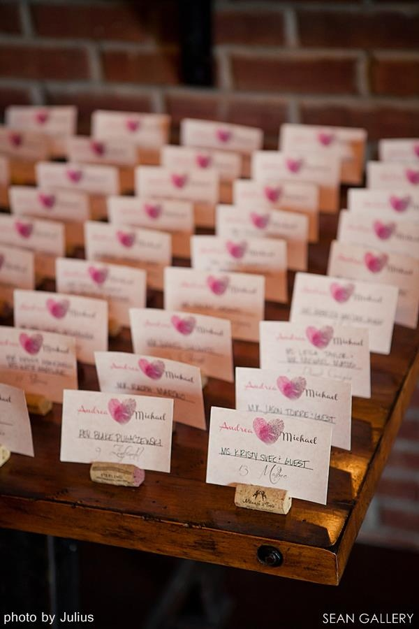 really cute place card idea