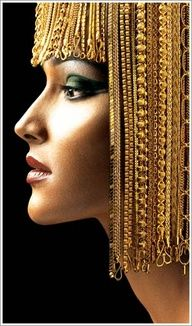 Ancients use to wear solid gold as braids and adornments in their hair.  These are priceless treasures!  TreasureForce