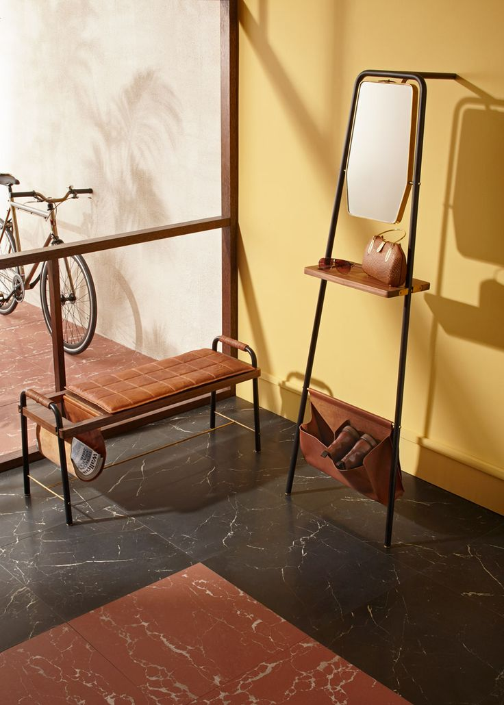 David Rockwell bases Valet furniture for Stellar Works on traditional clothing racks