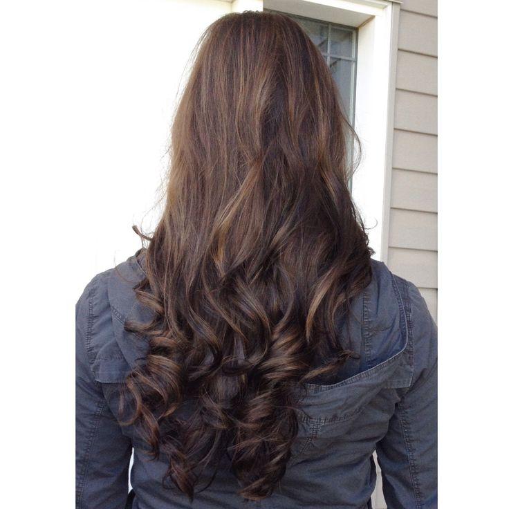 Highlights, lowlights & warm Browns #fall #hair #brown #highlights #lowlights #curlyhair #curlybrownhair #curly
