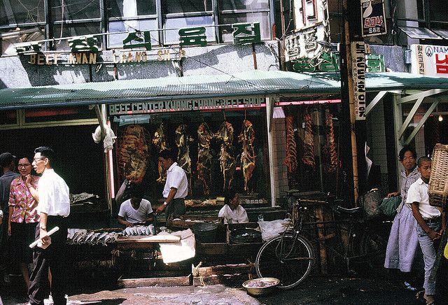 Namdaemun Market Seoul 1966 | Photo by Kathryn McNeil.