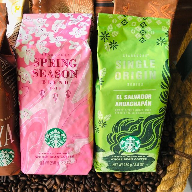 Pin By Les Reyes On Starbucks Coffee Coffee Bean Bags Starbucks Coffee Beans Starbucks Coffee