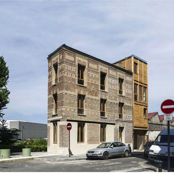 """Atelier RAMDAM Au Bon Coin 12    Livré par l'Atelier Ramdam, """"Au Bon Coin"""" est un programme de restructuration et d'extension qui se compose de 5 logements locatifs. Dans cet immeuble du début du siècle dernier, emblématique des berges du canal et célèbre pour avoir é..."""