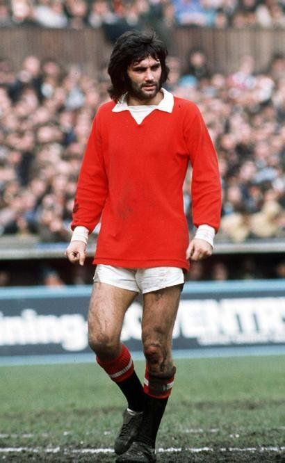 George Best - One of my childhood heroes who wasted his talent, what an inspiration whilst it lasted!