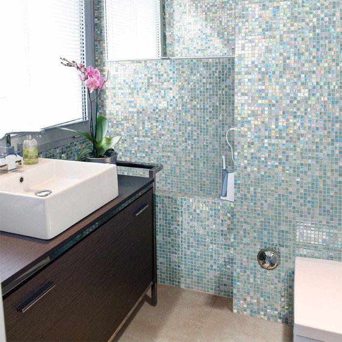 214 besten Bad Bilder auf Pinterest Glasmosaik fliesen, Mosaik - mosaik im badezimmer