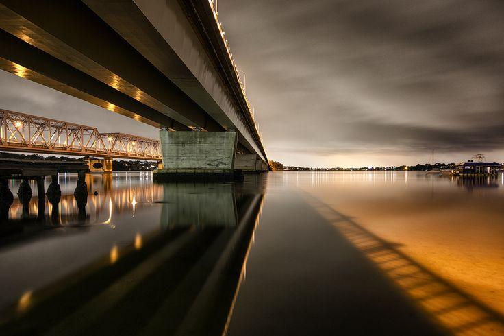 Twin Bridges ( Tom Uglies ) Sylvania Sydney Visit me on Facebook https://www.facebook.com/pages/David-Haworth-Photography/173459096043797