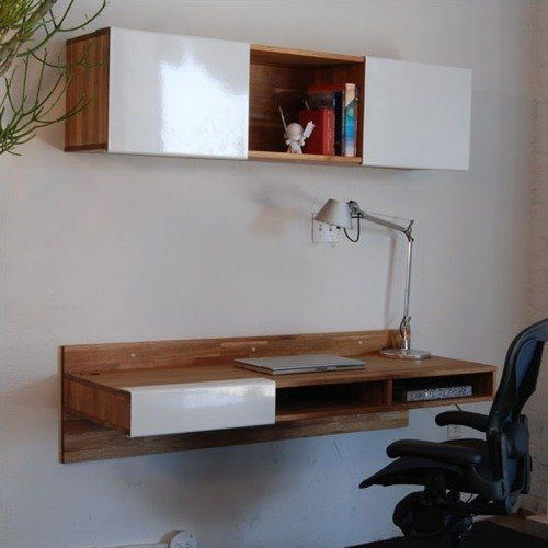 10 Creative Examples For Dividing Small Spaces: Best 25+ Wall Mounted Desk Ideas On Pinterest