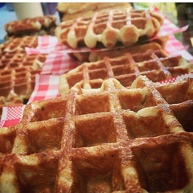 CRUNCHY's waffles - Liège waffles