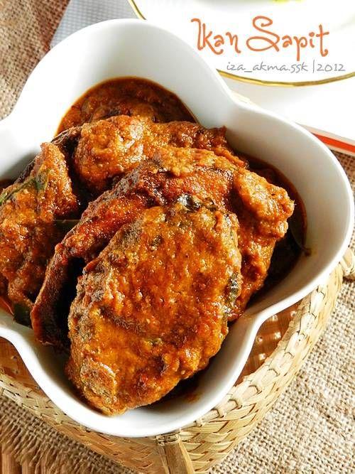 Singgahsana Kitchen Ikan Sapit Makanan Ikan Resep Ikan Makanan