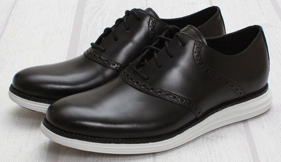 Fragment Design x Cole Haan Lunargrand Saddle Black-White (2)