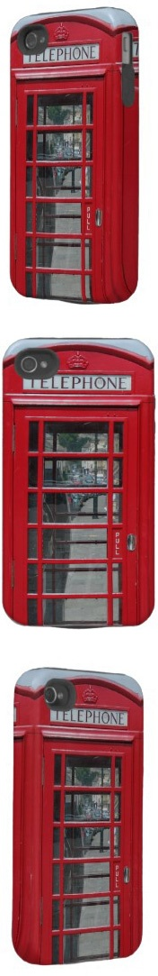 Your own Red phone box anywherePhones Call, Creative Creative, Red Phones, Call Boxes, Police Phones, Iphone Covers, Phones Booths, Phones Boxes