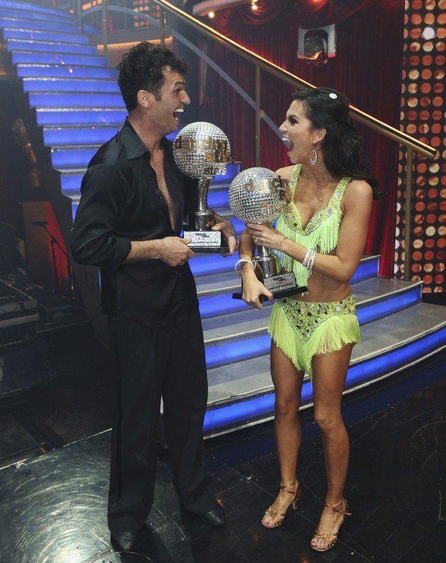 Dancing With The Stars Season 15 Fall 2012 Melissa Rycroft and Tony Dovolani Winners