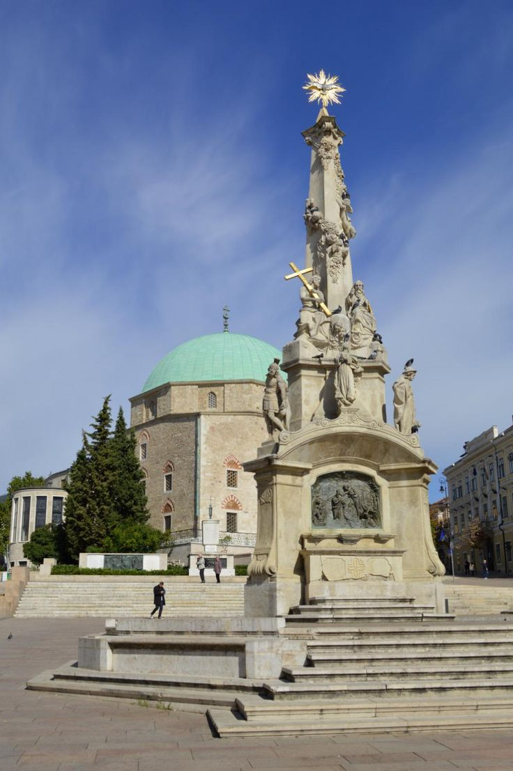 Szechenyi Ter (central square) - Pecs, Hungary