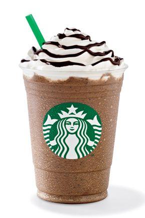 Chocolate Cremé Frappuccino®  Irresistible mezcla de crema con mocha, batido con hielo y decorado con crema batida  y topping de mocha.