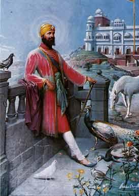 Guru Gobind Singh Ji at Anandpur Fort