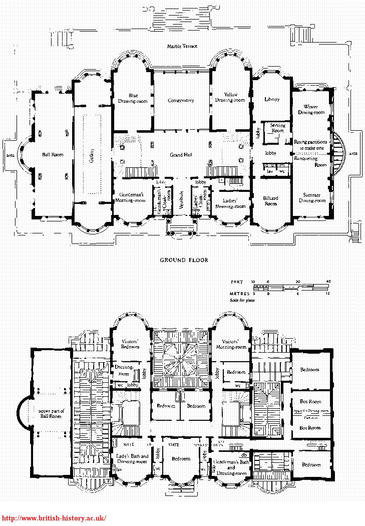 83 best fabulous floor plans images on pinterest for Mansion floor plans with ballroom