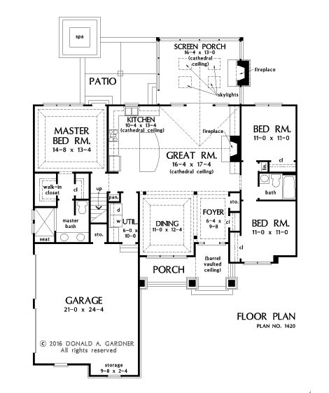 House Plan 1420 has been named The Miranda and is NOW IN PROGRESS! See more on our house plans blog! #WeDesignDreams