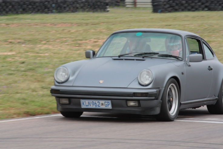 Yet anther Porsche we had some fun in...