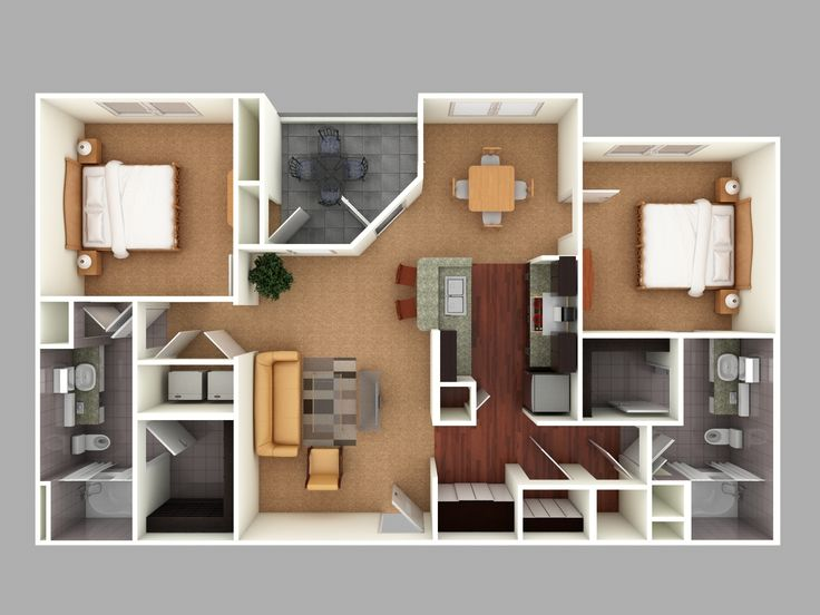 38 Best Images About Architecture Colored Floor Plan On