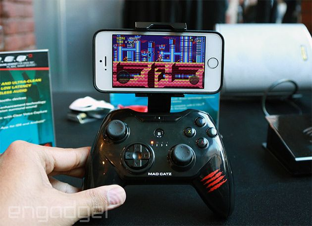 Mad Catz Mobile Gaming Controller for iOS7