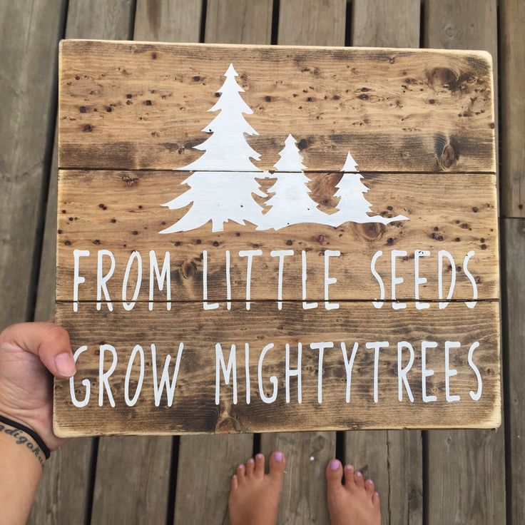 wooden sign, handmade sign, boys nursery, rustic nursery, woodland nursery, rustic nursery The wood grain and knots in this wood is EVERYTHING