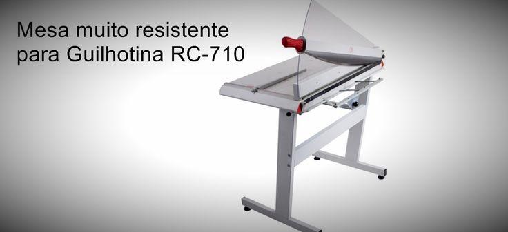 Mesa para Guilhotina RC-710 Mesa resistente e ergonómica para Guilhotina profissional RC-710  http://www.amakpost.com/guilhotinas.html?from=pinterest