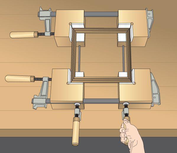 Corner Clamp Blocks Woodworking Plan, Shop Project Plan   WOOD Store