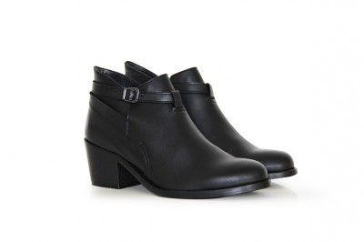 BARBRA - NOIR #derbies #boots #shoes #women #leather