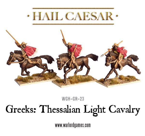 Greeks: Thessalian Light Cavalry | Warlord Games